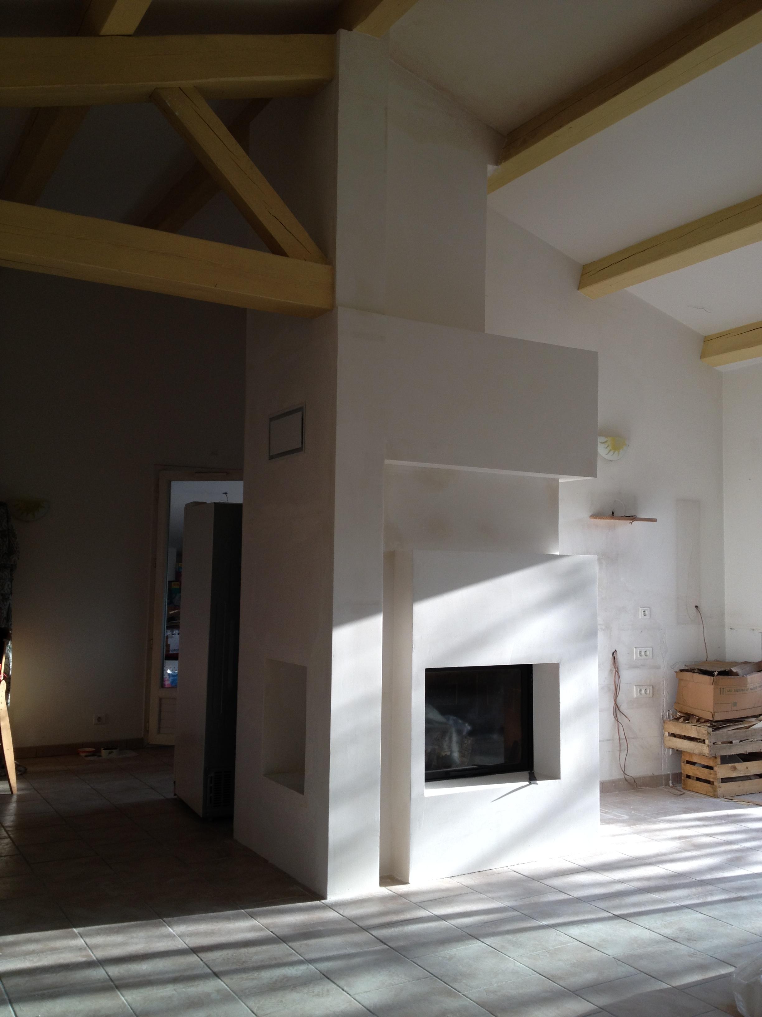 chemin e double face chemin e double face contemporaine vente chemin es haut de cheminee. Black Bedroom Furniture Sets. Home Design Ideas