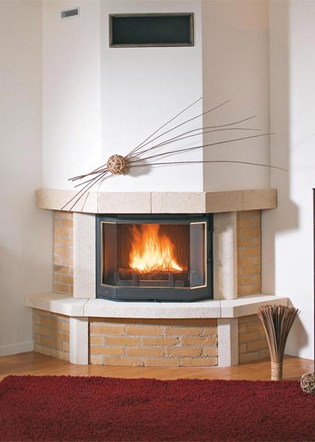 rnovation chemine rustique chemine murale relooker une. Black Bedroom Furniture Sets. Home Design Ideas